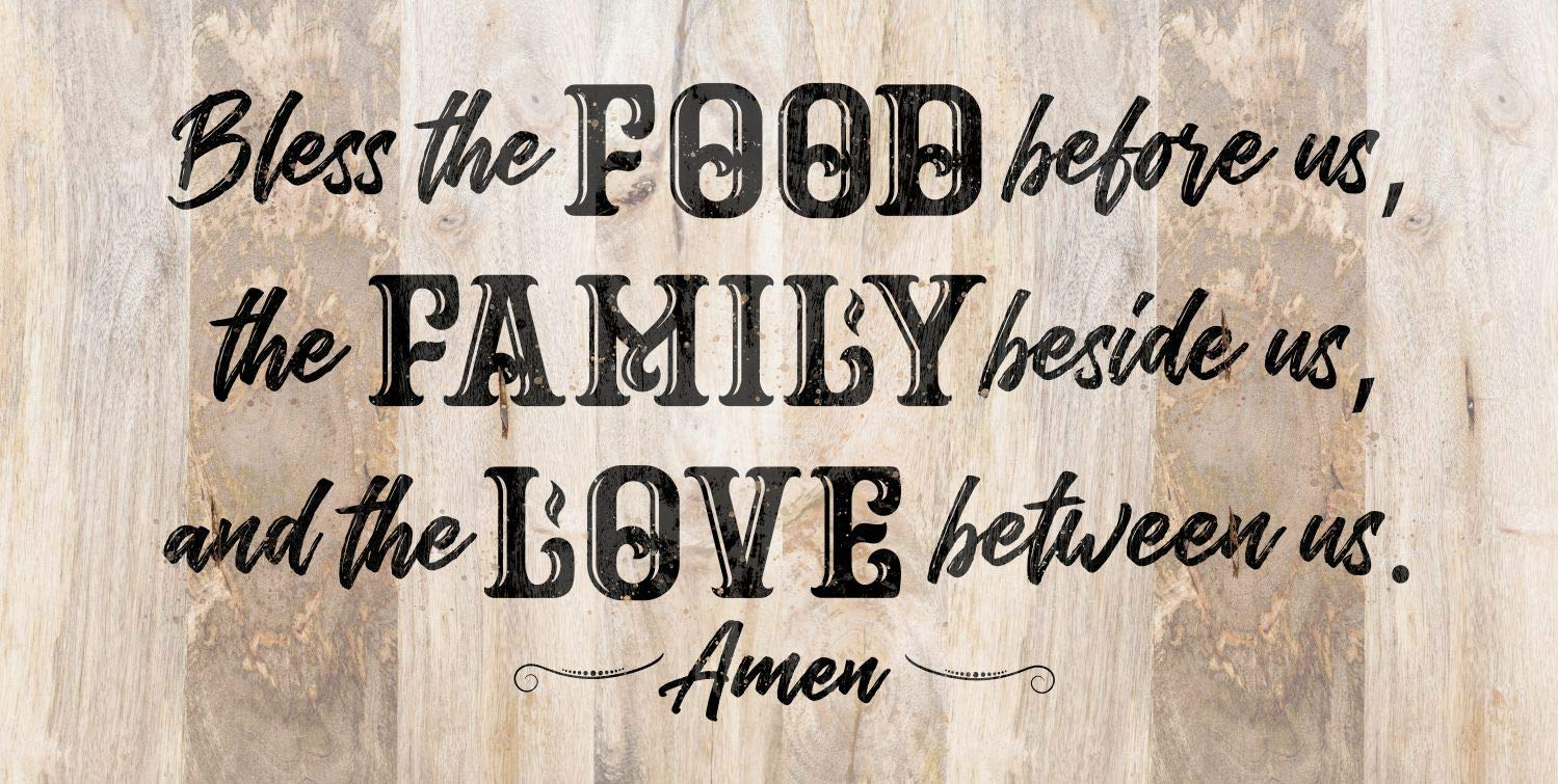 Bless The Gorgeous Food Attention brand Before Us - Large Printed on Not Canvas Wall Art