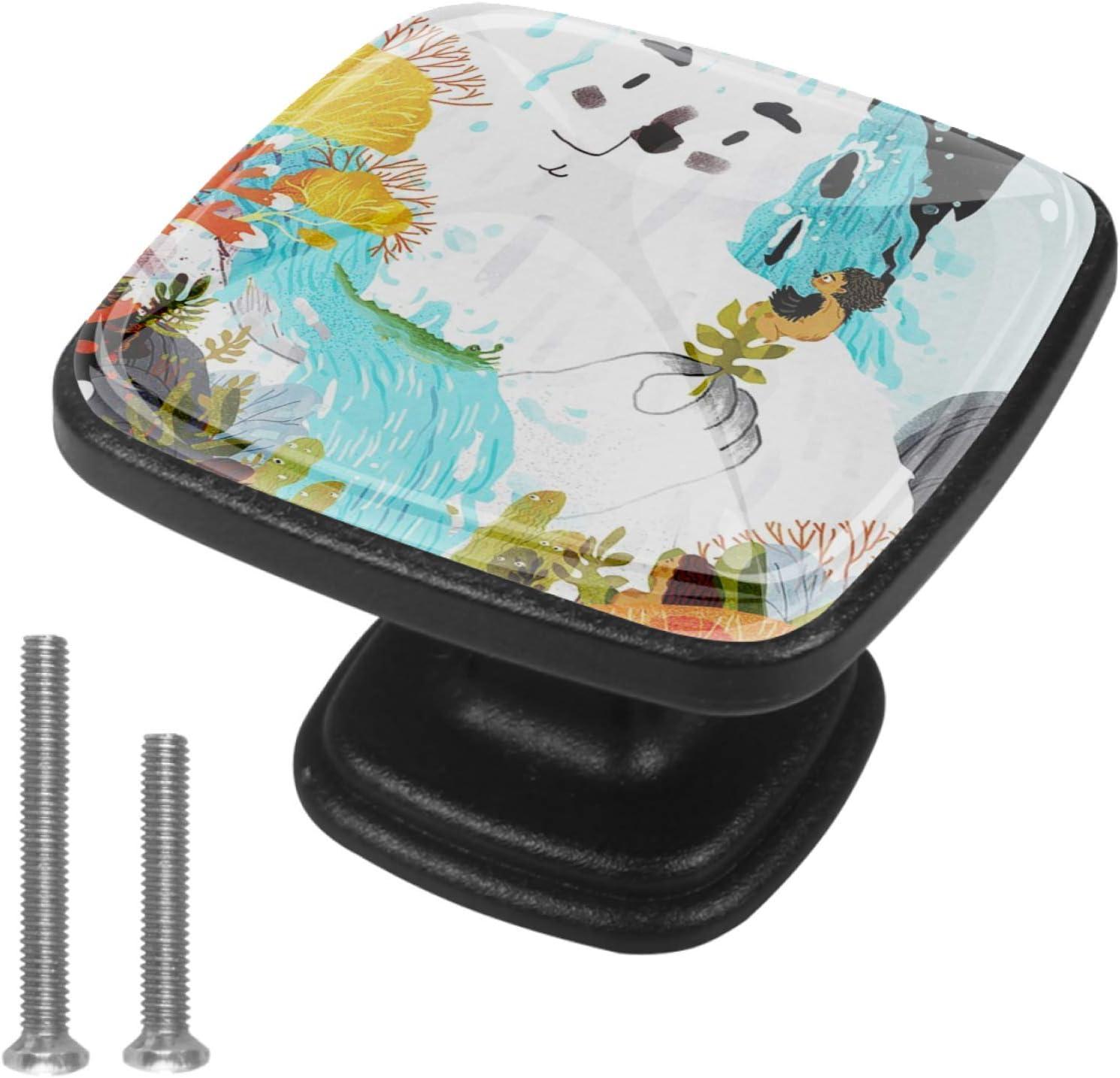 Round Cabinet Hardware Surprise price Knob 4 Pack 100
