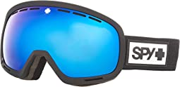 Matte Black HD Plus Rose w/ Dark Blue Spectra Mirror