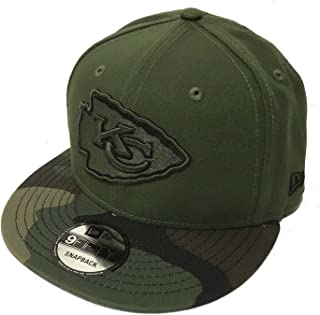 premium selection 95b0d a7c15 Authentic Kansas City Chiefs Salute To Service Limited Exclusive 9FIFTY  Snapback Cap