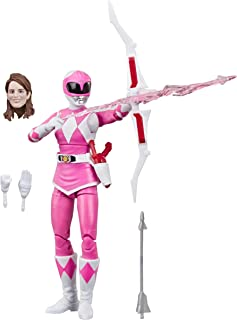 Power Rangers Lightning Collection 6-Inch Mighty Morphin Pink Ranger Collectible Action Figure Toy with Accessories