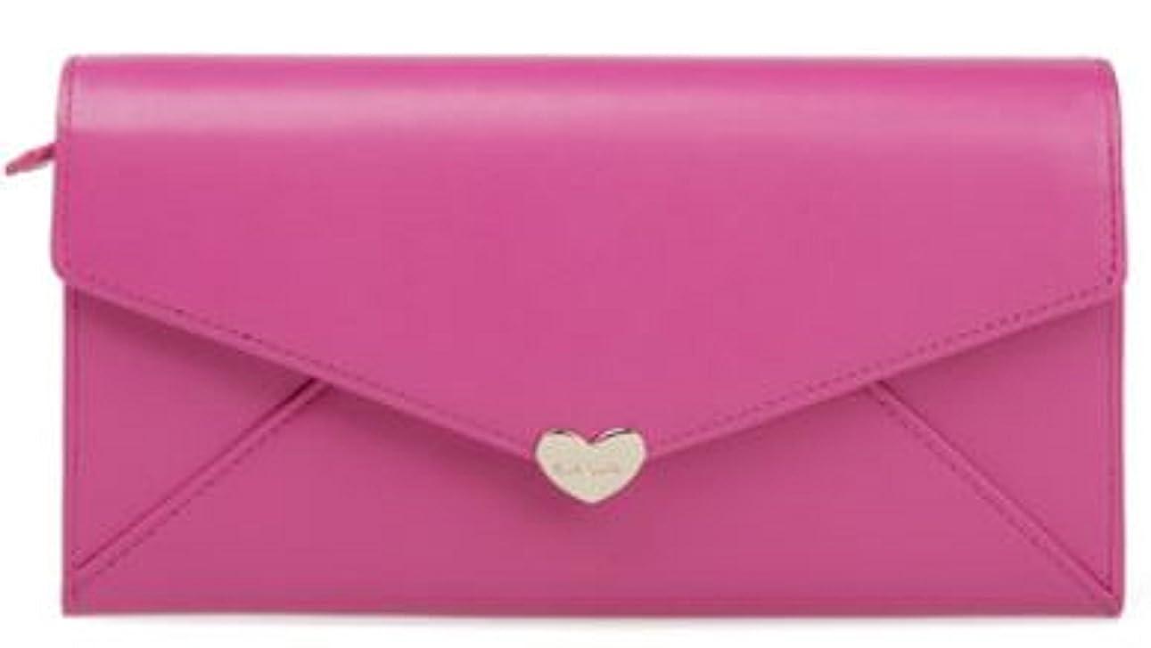 マーティフィールディング貨物カートンポールスミス Paul Smith ラブレター2 長財布 財布 ウォレット  (ピンク)