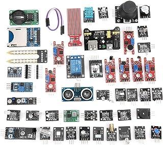 مجموعة متنوعة من أجهزة الاستشعار مكونة من 45 قطعة ، مجموعة أدوات بدء التشغيل من وحدات الاستشعار ، مجموعة احترافية DIY من أ...