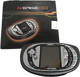 Nokia N-Gage QD 3.4MB Mobile Phone Gaming Bundle with Moto GP Original Factory Unlocked 2G GSM Cellphone (Grey) - Internat...