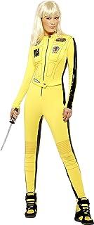 comprar comparacion Smiffys Licenciado Oficialmente Disfraz de Kill Bill Vol.1 & Vol.2, Amarillo, con Traje Entero y Espada