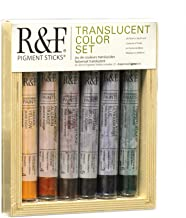 R&F Handmade Paints Translucent Colors, Set of 6