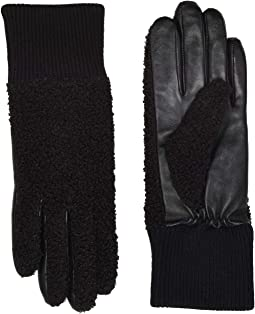 Faux Sherpa Tech Gloves