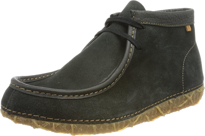 El Naturalista Men's Oxford Boot, Black, womens 10