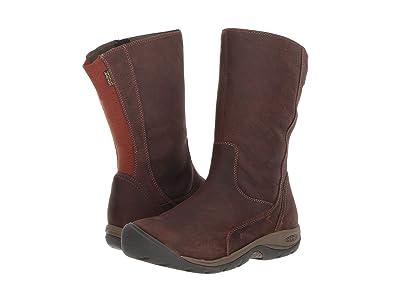 Keen Presidio II Waterproof Boot (Tortoise Shell/Cornstalk) Women