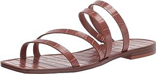 Dolce Vita Women's Izabel Slide Sandal, TOBACCO CROCO PRINT STELLA, 6