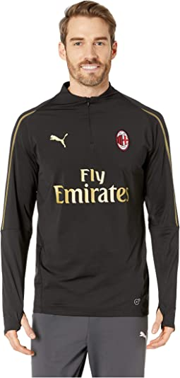 AC Milan1/4 Zip Top with Sponsor