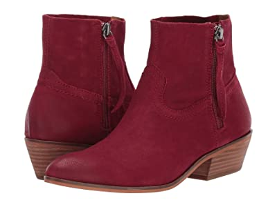 FRYE AND CO. Rubie Zip (Raspberry Vintage Leather) Women
