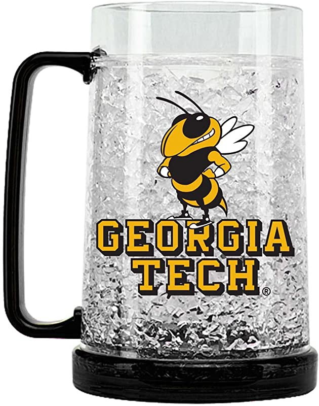 NCAA Georgia Tech Yellow Jackets 16oz Crystal Freezer Mug