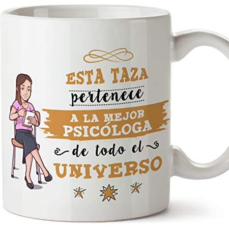 Kembilove Taza de Café de la Mejor Psicóloga del Mundo ...