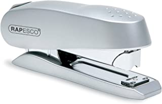 Rapesco Stapler, Luna Heavy Duty Half Strip Stapler, 50 Sheet Capacity