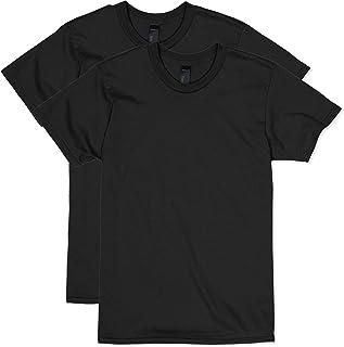 Men's Nano Premium Cotton T-Shirt (Pack of 2), Black,...