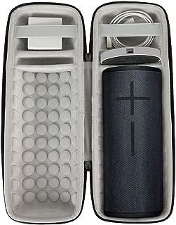 Khanka Hard Travel Case for Ultimate Ears UE MEGABOOM 3 Portable Bluetooth Wireless Speaker (Night Black)