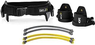 SKLZ HOPZ Straps Vertical Jump Trainer with Belt, Cuffs, and Resistance Bands
