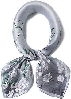 100% 高档真丝围巾方形围巾适用于女式**三角巾发带小号正方形