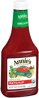 Annie's Organic Gluten Free Ketchup 24 oz Bottle (Pack of 12)