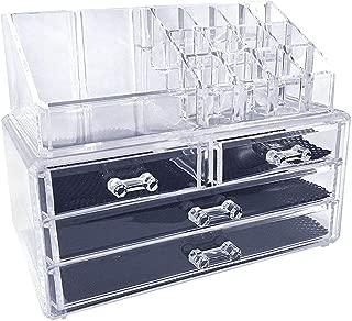 Cosmetic Storage Box Make Up Organizer - Transparent