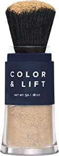 Color & Lift with Thickening Powder - Available in 8 Hair Colors - Root Cover Up - Temporary Hair Coloring Brush that Refreshes Hair - Light Brown