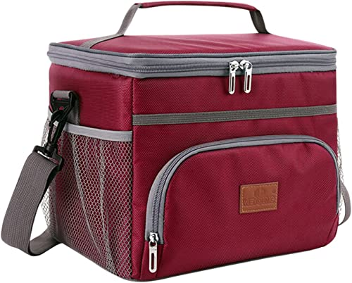2021 15L 24-Can Coke Cooler Tote Bag Camping Backpack Insulated Lunch outlet sale Bag online Soft Cooler Cooling Tote for Adult Collapsible Lightweight Camping Cooler Backpack Organizer for Outdoor Camping/Trekking/Picnic/BBQ,SegkopuoL sale
