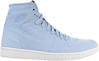 Men's Air Jordan 1 Retro High Decon, Ice Blue/Vachetta Tan/White, 10 D(M) US