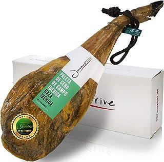 comprar comparacion Jamonprive Jamón Ibérico Paleta (Pata Negra) de Cebo de Campo 4 - 4.5 Kg