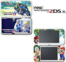 Mario Kart 8 Deluxe Animal Crossing Video Game Vinyl Decal Skin Sticker Cover for Nintendo New 2DS XL System Console