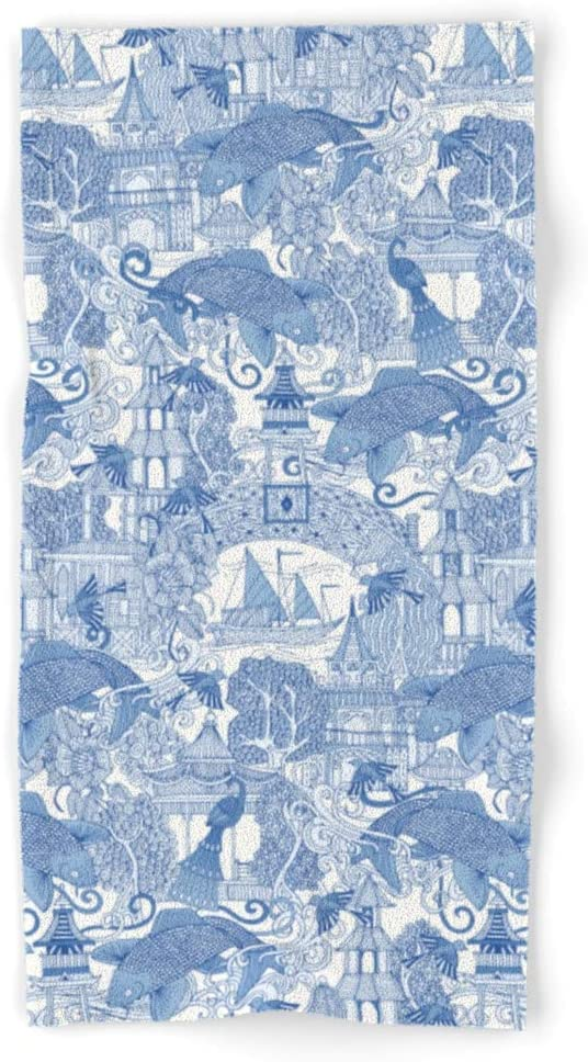 Rapid rise Society6 Chinoiserie Toile Blue by Ranking TOP6 Sharon Bat Turner Hand and on
