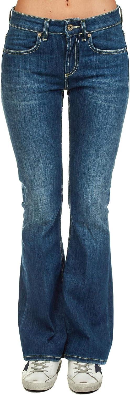 Dondup Women's DP297DS0107T43G800 bluee Cotton Jeans