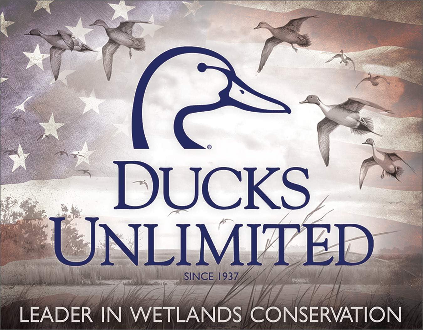 Tin Sign TSN1204 Ducks Unlimited Beaver Pond Nostalgic Emobssed Tin Signs All