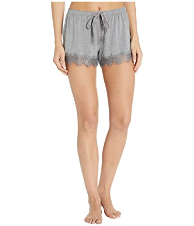 P.J. Salvage Modal Basic Shorts (Heather Grey) Women