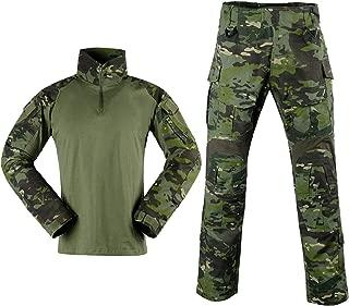 Tactical Combat Pants Shirt US Army Military Paintball BDU Gen3 Uniform Rapid Assault Sleeve Slim Fit Long Sleeve Top Uniform