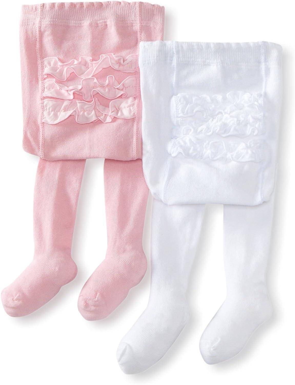 Tights Baby Girls//Infant Plain White Pink Cream Newborn-24 Months 2-13 Years