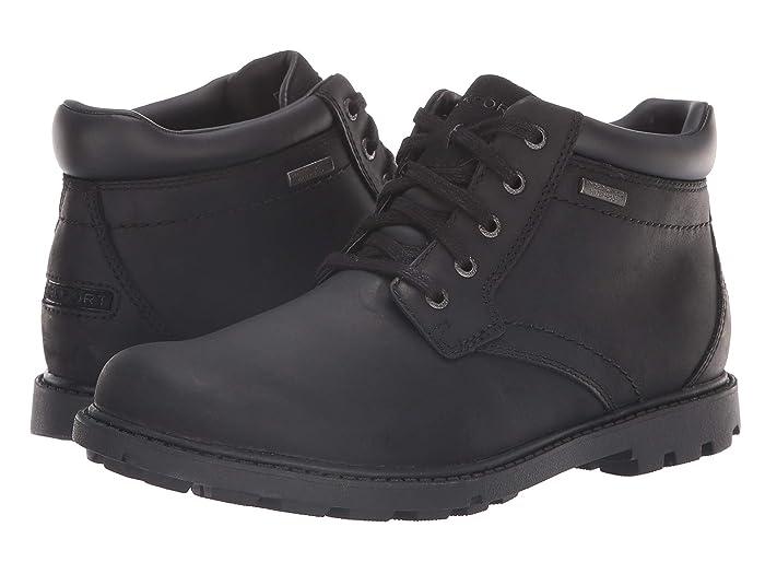 Rockport  Rugged Bucks Waterproof Boot (Black II) Mens Boots