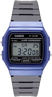Men's 'Vintage' Quartz Plastic and Resin Casual Watch,...