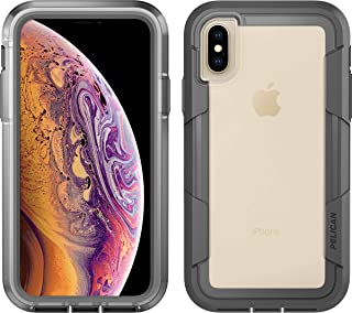 Pelican Voyager Case for The Apple iPhone Xs/X (Clear/Grey)