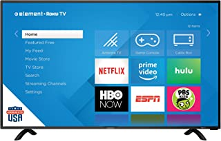 "Element E4SC5018RKU 50"" UHD 4K Element Roku HDTV"