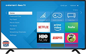 "Element E4SC4018RKU 40"" UHD 4K Element Roku HDTV"