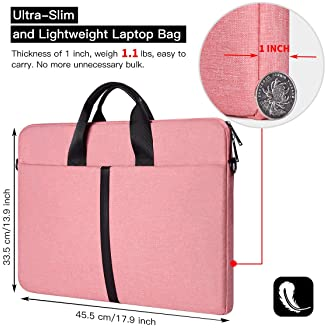 C COABALLA Family Happiness is Family Hand Writing Cushion Protective Waterproof Laptop Case Bag Sleeve for Laptop AM011527 15 inch//15.6 inch
