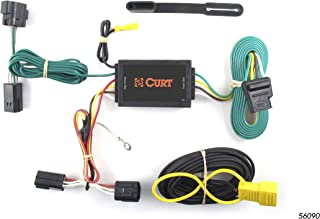 CURT 56090 Vehicle-Side Custom 4-Pin Trailer Wiring Harness for Select Ford Transit Connect