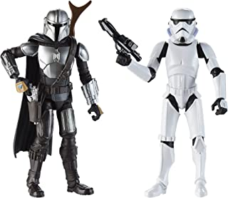 Star Wars Galaxy of Adventures The Mandalorian 5-Inch-Scale Figure 2 Pack with Fun Blaster Accessories, Toys for Kids Ages...