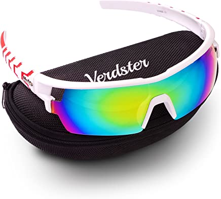 45da80e7d6 Verdster TourDePro Sunglasses for Men and Women - Sporty Ski Shades - UV  Protection Shades -