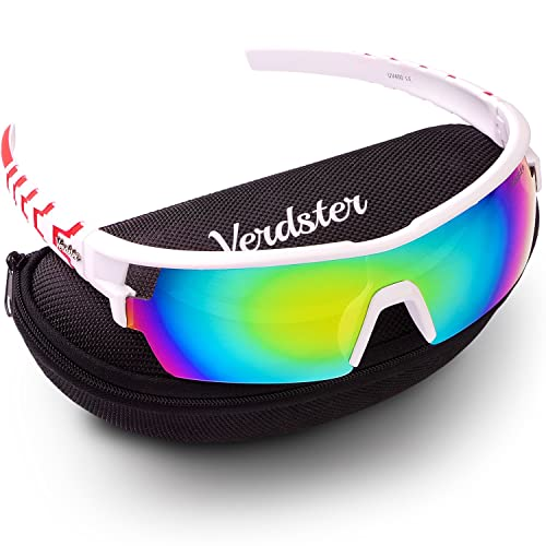 9e9bec4324 Verdster TourDePro Sunglasses for Men and Women - Sporty Ski Shades - UV  Protection Shades -