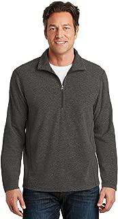 Men's Microfleece Zip Pullover