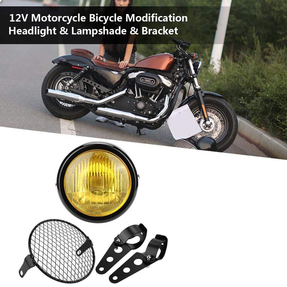 Duokon 12V Motorcycle Bicycle Modification Faros, pantallas y ...