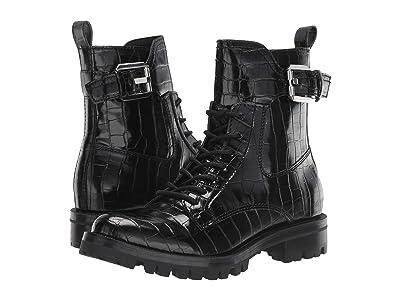 Dolce Vita Paxtyn (Noir Croco Print Leather) Women