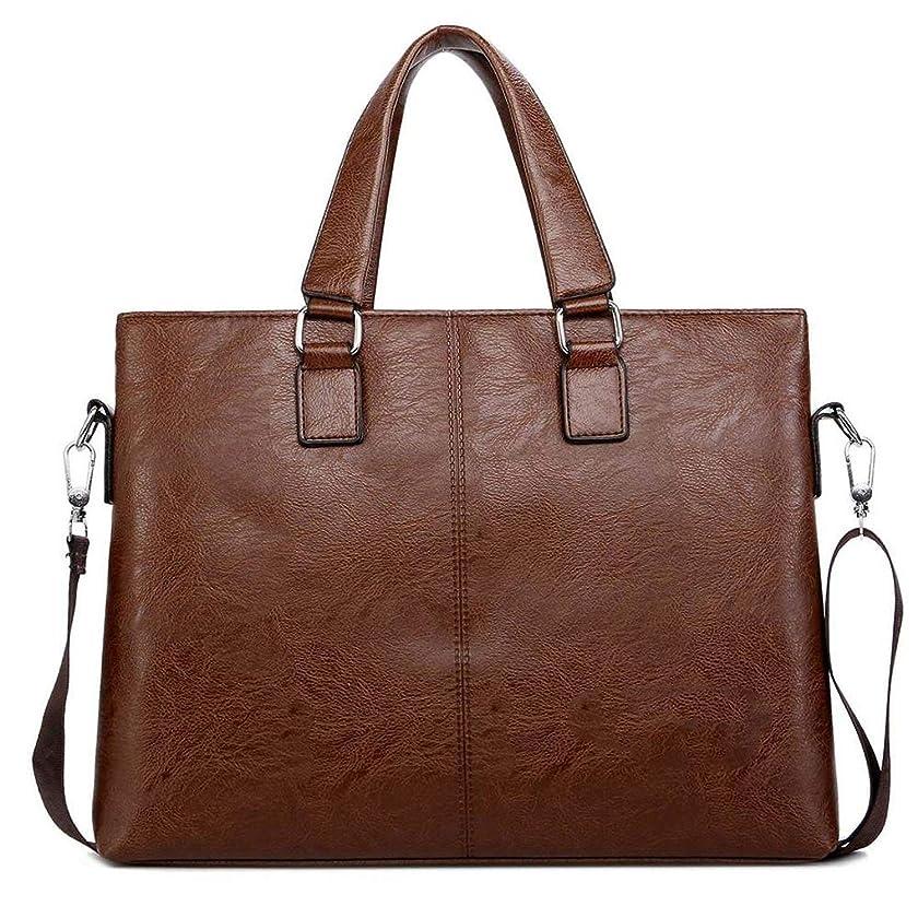 Lose sky New Simple Design Man Handbag Soft Leather Men Messenger Bags Business Laptop Bag Men's Briefcase sac homme